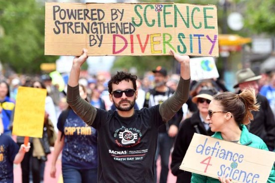 sacnas strengthened by diversity sci march